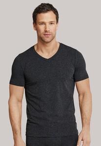 Schiesser T-Shirt Long Life Soft Donker Grijs Melange