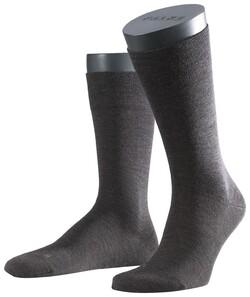 Falke Sensitive Berlin Socks Dark Brown Melange
