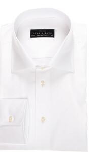 John Miller Dress-Shirt Two-Ply Wit