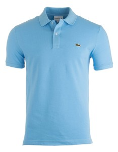 Lacoste Slim-Fit Piqué Polo Ocean Blue