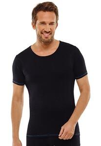 Schiesser Seamless Active Shirt Zwart