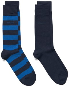 Gant 2Pack Bar Stripe College Blue