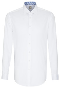Jacques Britt Slim Collar Contrast Wit