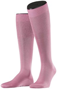 Falke No. 9 Egyptian Karnak Cotton Kniekous Soft Pink