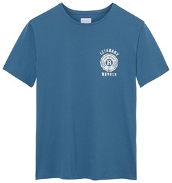 Gant Uni Printed T-Shirt Salty Sea
