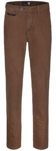 Gardeur Benny-3 Cashmere Cotton Flat-Front Light Brown