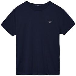 Gant Gant The Original T-Shirt Avond Blauw