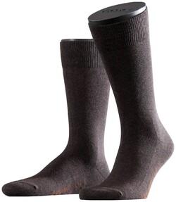 Falke Family Socks Dark Brown Melange