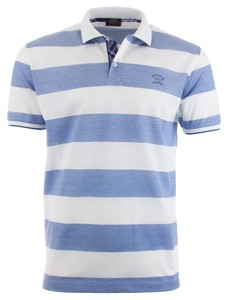 Paul & Shark Blue-White Barstripe Blauw-Wit