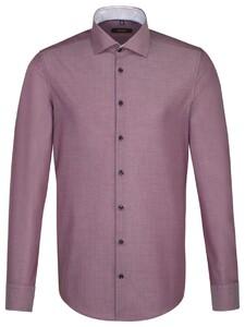 Seidensticker Spread Kent Uni Blauw-Rood