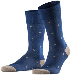 Falke Dotted Socks Royal Blue