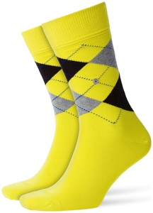 Burlington King Socks Limepunch