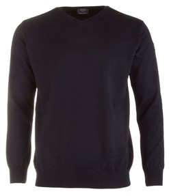 Paul & Shark Basic Merino Extra Fine Navy