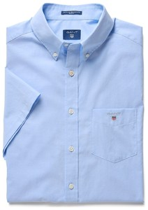 Gant The Broadcloth Short Sleeve Hamptons Blue