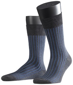 Falke Shadow Sok Anthracite-Blue