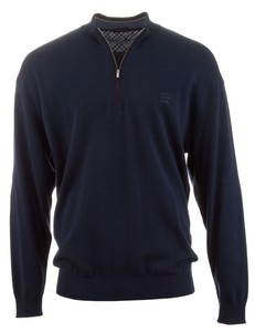 Paul & Shark Yachting Collection Cotton Pullover Rafblauw