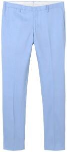 Gant Tailored Slim Stretch Linen Pants Polar Blue