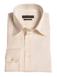 John Miller Dress-Shirt Non-Iron Ecru