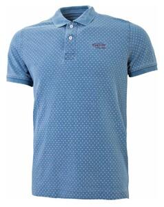 Tenson Milton Polo Midden Blauw